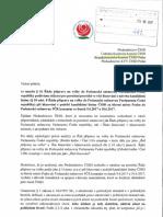Stížnost předsednictvu ČSSD