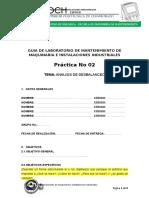 Guía PRACTICA e Informe Desbalanceo