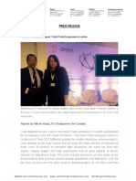 ITC Attendance Report World Trade Symposium in Londondoc
