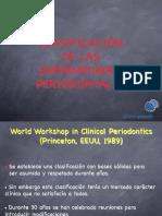 Clase 1 Clasificacion de Las Enfermedades Periodontales