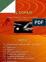 EL DOPAJE