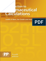 Pharmaceutical Calculations - PP 2015