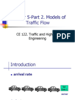 Ch05 Part 2-Traffic Flow Models