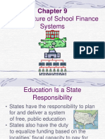 Chapter 9 - Structure of School Finance Systems