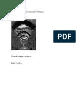 Close Analysis Booklet