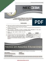 Prova Tecn_Assuntos_Educacionais