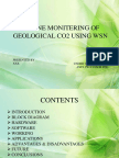 Online Monitoring of Geological Co2 Using Wsn