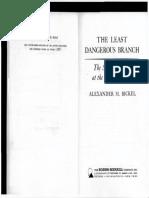 "Excerpt from ""The Least Dangerous Branch"" By Alexander Bickel"