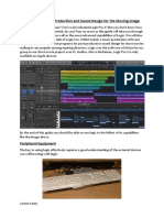 Logic Pro X Music Production and Sound Design for the Moving Image
