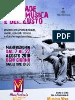 Manfredonia Musica Viva Brochure