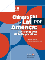 Chinese FDI in Latin America