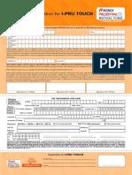 IPru Touch - OTMandate Form