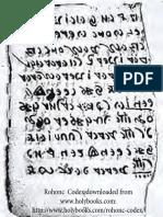 Rohonc Codex