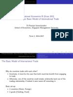 Econ 203 (Week 1 Basic Model)