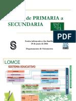 Primaria a Secundaria 16-17