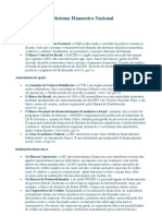 Apostila 01 - Sistema Financeiro Nacional