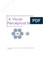 4 Visual Perception and Memory