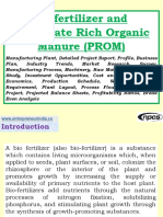 Biofertilizer and Phosphate Rich Organic Manure (PROM) Manufacturing Plant, Detailed Project Report, Profile, Business Plan, Industry Trends, Market Research, Survey, Manufacturing Process, Machinery, Raw Materials, Feasibility Study, Investment Opportunities, Cost and Revenue, Plant Economics, Production Schedule, Working Capital Requirement, Plant Layout, Process Flow Sheet, Cost of Project, Projected Balance Sheets, Profitability Ratios, Break Even Analysis
