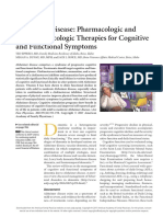 AFPJ - Alzheimer Disease- Pharmacologic and Nonpharmacologic Therapies for Cognitive and Functional Symptoms