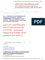 Top Compressors, Gas Turbines and Jet Engines