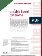 AIM - Irritable Bowel Syndrome