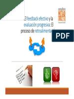 Feedback Efectivo y Evaluación Progresiva