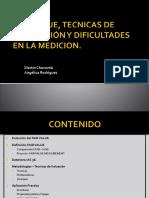 TECNICAS DE VALORACION