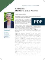Geneviève Darrieussecq avait écrit aux Montois pour expliquer le choix de son successeur