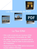 y 9 Monuments de Paris