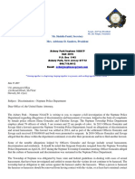 Asbury Park - Neptune NAACP Letter to Request Investigation of Neptune Police Department 6.17.17