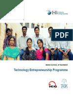 TEP Programme Brochure
