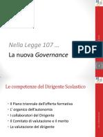 01 La Nuova Governance Nella Legge 107