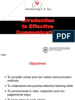 Effective Communication Presentation