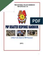 PNP Disaster Response Handbook