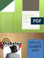 Diet Nikmat Bagi Penderita DM Dr. Makiyah