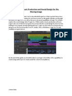Logic Pro X; Music Production and Sound Design for the Moving Image