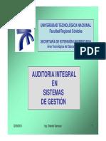 Auditoria Integral en Sistemas de Gestión Mat Adicional Mód 1