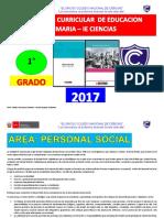 Programa Curricular de Primaria 1 Grado