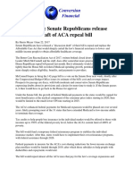 article aca repeal initial senate document