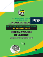 ANC National Policy Conference 2017 Discussion Document