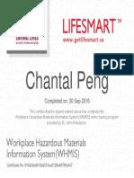 whmis - chantal peng