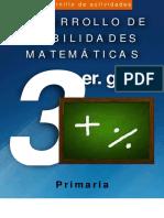 Cuadernillo Matemáticas 3o