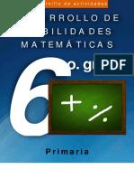 Cuadernillo Matemáticas 6o