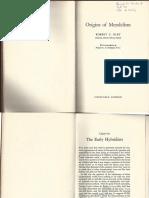 Olby Origins Mendelism Cap 1