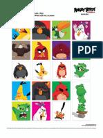 Calcamonias Angry Birds