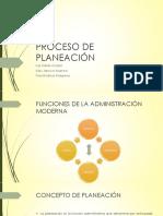 Proceso de Planeacion 123