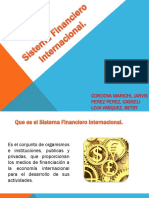 Sistema Financiero Internacional VIII