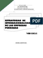 23 Estrategias de Internacionalizacion de Las Empresas Peruanas Unificado Nov 2011