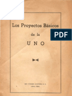 Los proyectos básicos de la UNO (1963)