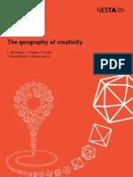 Geography of Creativity